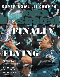 SI PRESENTS-2018 NFL SUPER BOWL CHAMPS- NICK FOLES