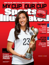 Uswnt Christen Press 23 Sports Illustrated Back Issues