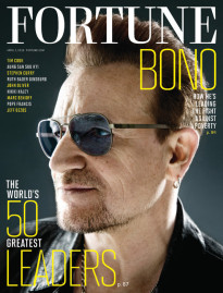 THE 50 WORLD'S GREATEST LEADERS - BONO