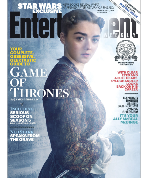 GAME OF THRONES POSTER: ARYA (MAISIE WILLIAMS)