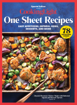 COOKING LIGHT One Sheet Recipes
