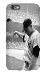Mickey Mantle Apple iPhone 6S Premium Phone Case