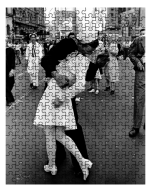 V-J Day in Times Square Puzzle