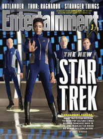 THE NEW STAR TREK - SET OF ALL 3 COVERS
