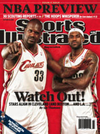 WATCH OUT! SHAQ AND LEBRON DOUBLE ISSUE