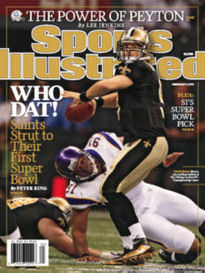 WHO DAT! THE NEW ORLEANS SAINTS