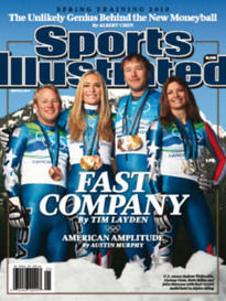 FAST COMPANY U.S. RACERS WITH THEIR MEDAL