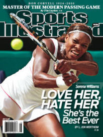 LOVE HER, HATE HER - SERENA WILLIAMS