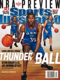 NBA PREVIEW KEVIN DURANT DOUBLE ISSUE