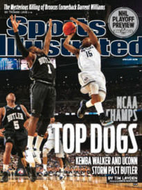 TOP DOGS NCAA CHAMPS UCONN
