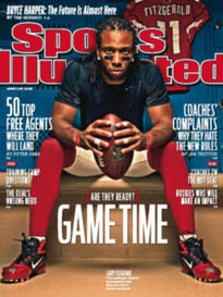 GAME TIME - ARE THEY READY? LARRY FITZGERALD