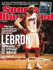 LEBRON - HIS WORDS - HIS EPIPHANY - HIS MOMENT