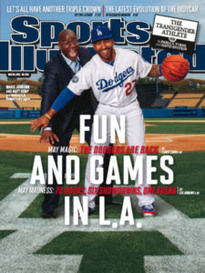 FUN AND GAMES IN L.A. MAGIC JOHNSON & MATT KEMP