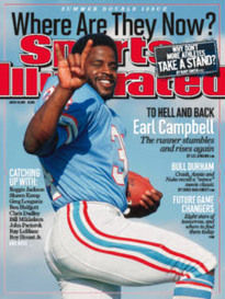 WHERE ARE THEY NOW? EARL CAMPBELL