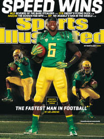 SPEED WINS OREGON'S DE'ANTHONY THOMAS