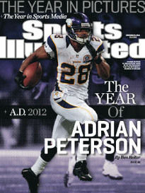 THE YEAR IN PICTURES ADRIAN PETERSON