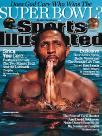 DOES GOD CARE WHO WINS THE SUPER BOWL? RAY LEWIS