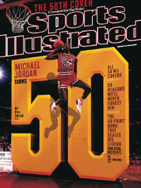 THE 50TH COVER MICHAEL JORDAN