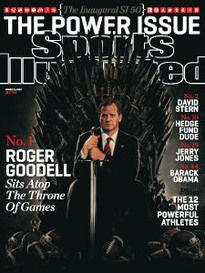 THE POWER ISSUE ROGER GOODELL