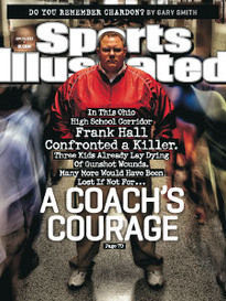 A COACH'S COURAGE FRANK HALL