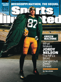 GREEN MACHINE - JORDY NELSON OF THE PACKERS
