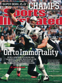 ON TO IMMORTALITY - PATRIOTS WIN SUPER BOWL 49