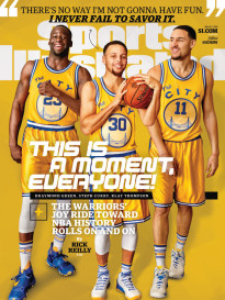 THIS IS A MOMENT, EVERYONE - GOLDEN STATE WARRIORS