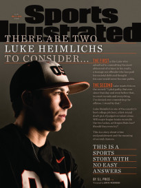 THERE ARE TWO LUKE HEIMLICHS TO CONSIDER...