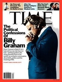THE POLITICAL CONFESSIONS OF BILLY GRAHAM