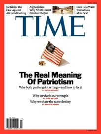 THE REAL MEANING OF PATRIOTISM