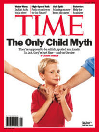 THE ONLY CHILD MYTH