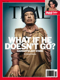 WHAT IF HE DOESN'T GO? GADDAFI'S LAST STAND