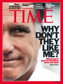 WHY DON'T THEY LIKE ME? MITT ROMNEY
