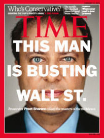THIS MAN IS BUSTING WALL ST. PREET BHARARA