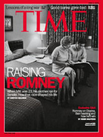 RAISING MITT LENORE AND MITT ROMNEY
