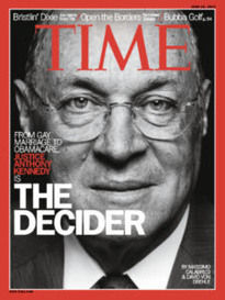 THE DECIDER JUSTICE ANTHONY KENNEDY