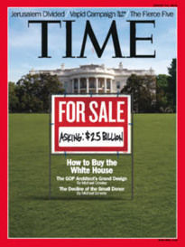 HOW TO BUY THE WHITE HOUSE