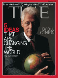 5 IDEAS THAT ARE CHANGING THE WORLD - BILL CLINTON