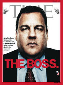 THE BOSS. GOVERNOR CHRIS CHRISTIE