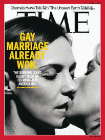 GAY MARRIAGE ALREADY WON.