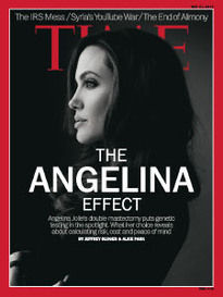 THE ANGELINA EFFECT ANGELINA JOLIE