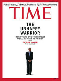 THE UNHAPPY WARRIOR PRESIDENT BARACK OBAMA