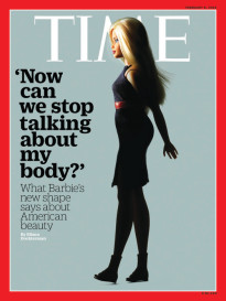 'NOW CAN WE STOP TALKING ABOUT MY BODY?' BARBIE