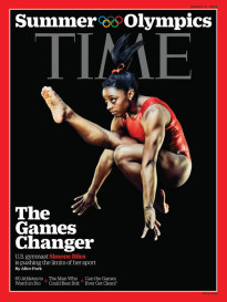 SUMMER OLYMPICS - THE GAMES CHANGER - SIMONE BILES
