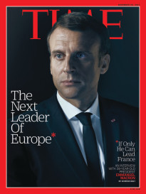 THE NEXT LEADER OF EUROPE - EMMANUEL MACRON