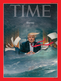 STORMY. DONALD TRUMP