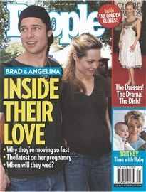 BRAD & ANGELINA INSIDE THEIR LOVE