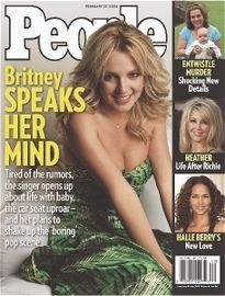 BRITNEY SPEAKS HER MIND