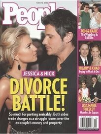 JESSICA & NICK DIVORCE BATTLE!
