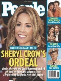 BATTLING BREAST CANCER SHERYL CROW'S ORDEAL
